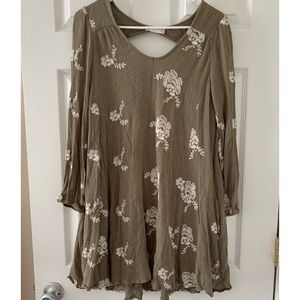 Altard State Olive Dress